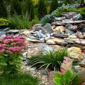 Какой камень используется в ландшафтном дизайне?