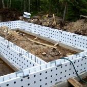 Несъёмная опалубка в строительстве: Технологии применения