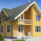 Строим дом, используя нестроганный брус