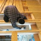 Теплоизоляция стен и потолка в бане