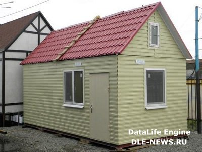 Бытовка – удобный вариант помещения на даче