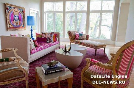 Дизайн домашнего интерьера в индийском стиле