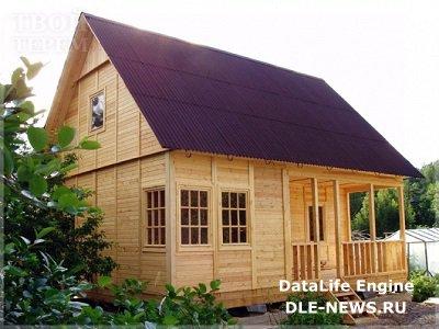 Как построить дачный дом недорого