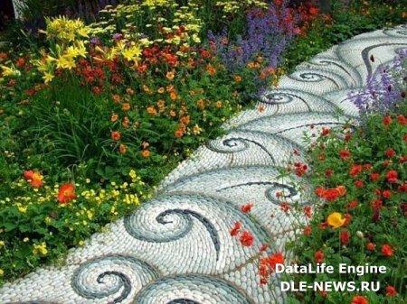 Некоторые виды садовых дорожек