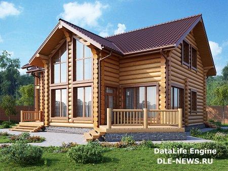Преимущества бревенчатого дома