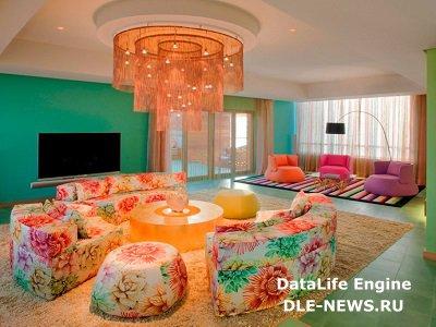Топ-5 модных цветов в оформлении интерьера на 2015 год