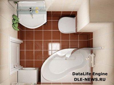 Варианты перепланировки хрущевки при совмещении туалета с ванной