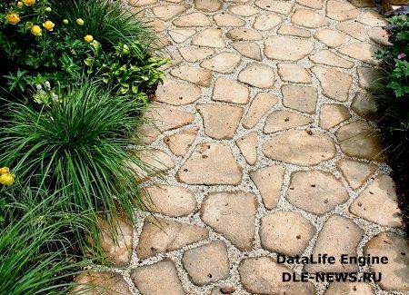 Выбор покрытия для садовых дорожек