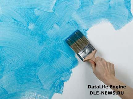 Водоэмульсионная краска — область применения и основные характеристики