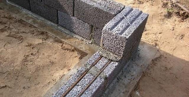 Керамзитобетонные блоки кладка своими руками