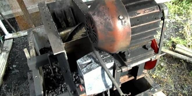 Мельница для угля своими руками
