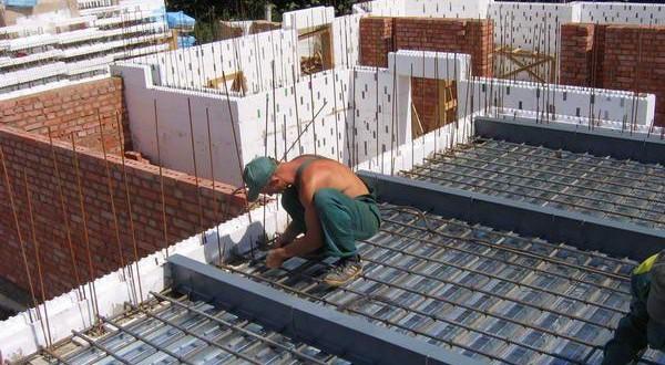 Как построить железобетонное перекрытие своими руками - Simvol-goroda.ru