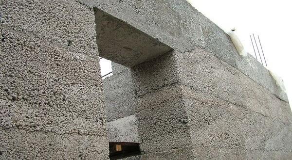 Заливной дом из керамзита своими руками
