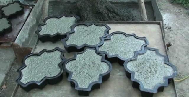 Как в домашних условиях изготовить тротуарную плитку