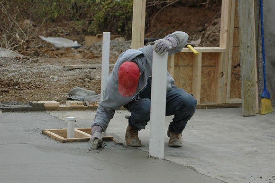 Процесс затвердевания бетона набрызгивание бетона