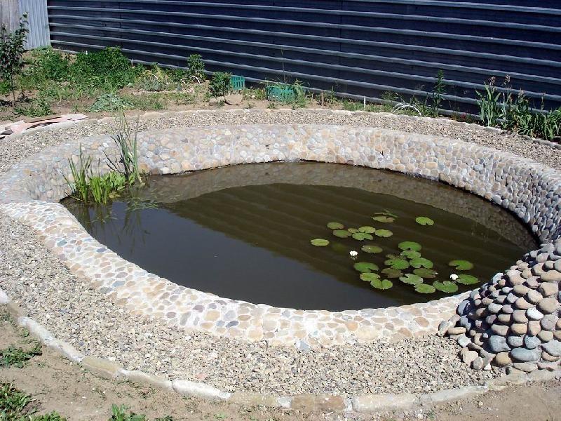 Пруд бетон купить армированную сетку для бетона в москве