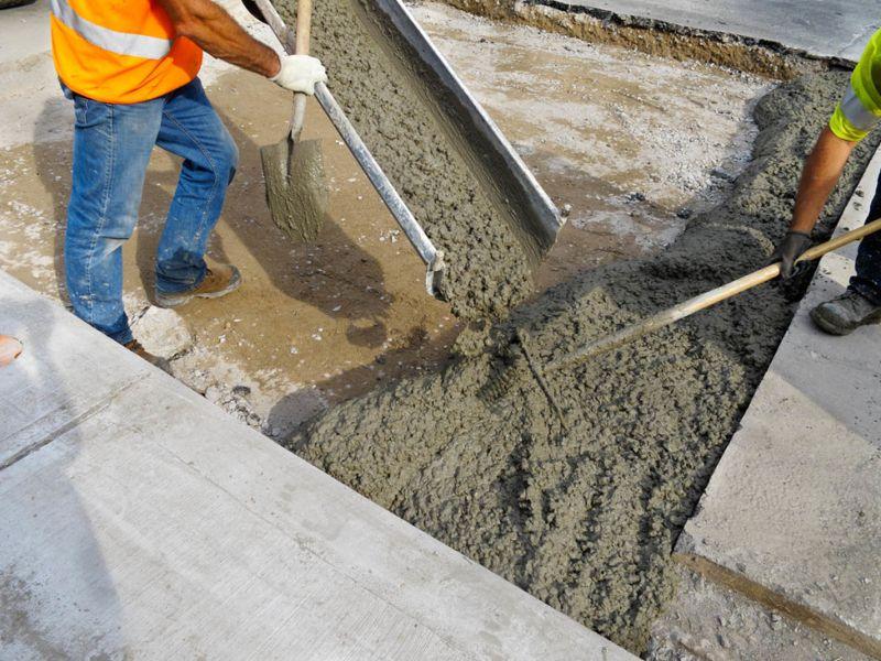 Что общего у бетона с строительным раствором раствор цементный м400