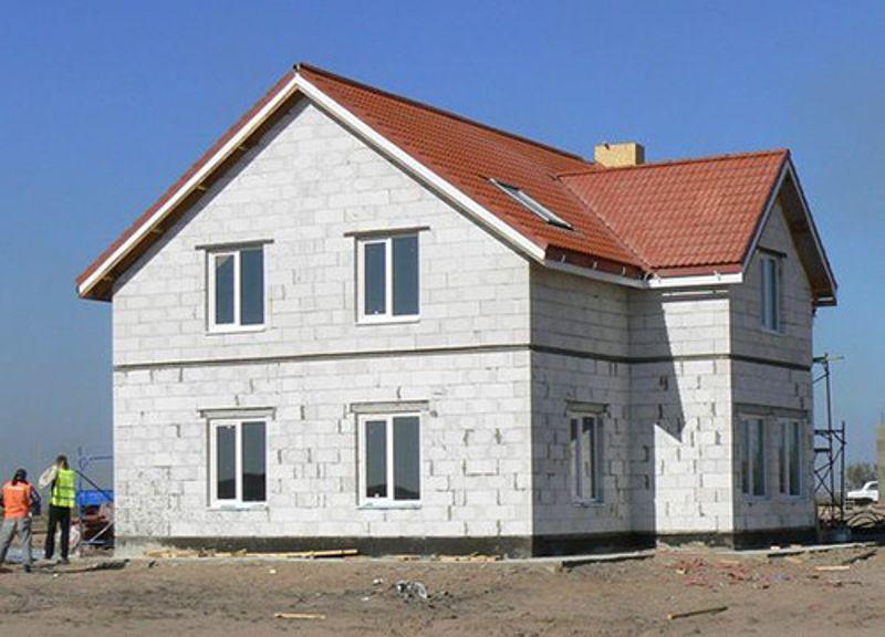 Дом из пеноблоков под ключ своими руками