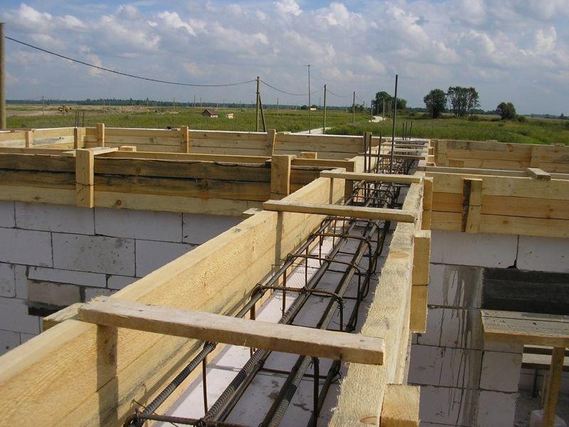 Пояс бетон проекты домов из керамзитобетона на 150 кв м