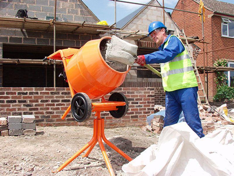 Приготовление цементного раствора бетономешалкой строительный раствор римлян