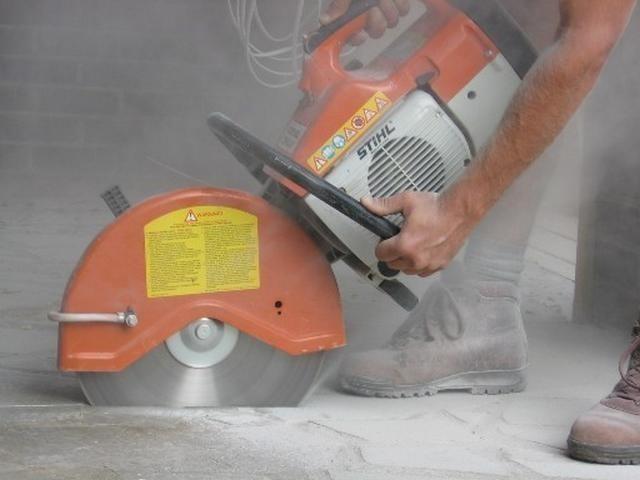 Чем пилят бетон бетона распределитель