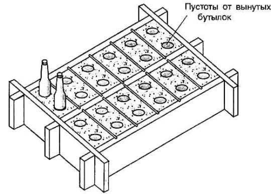 Стеклянные блоки своими руками