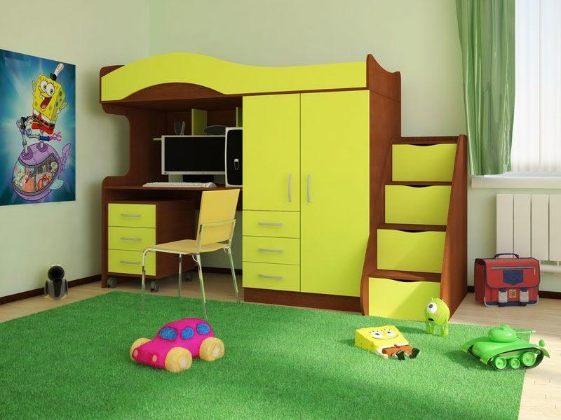 Детская мебель в интерьере