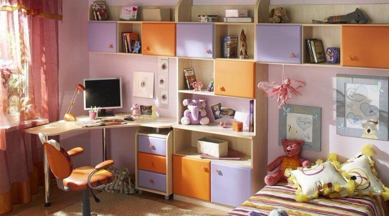 Мебель для школьников в интерьере
