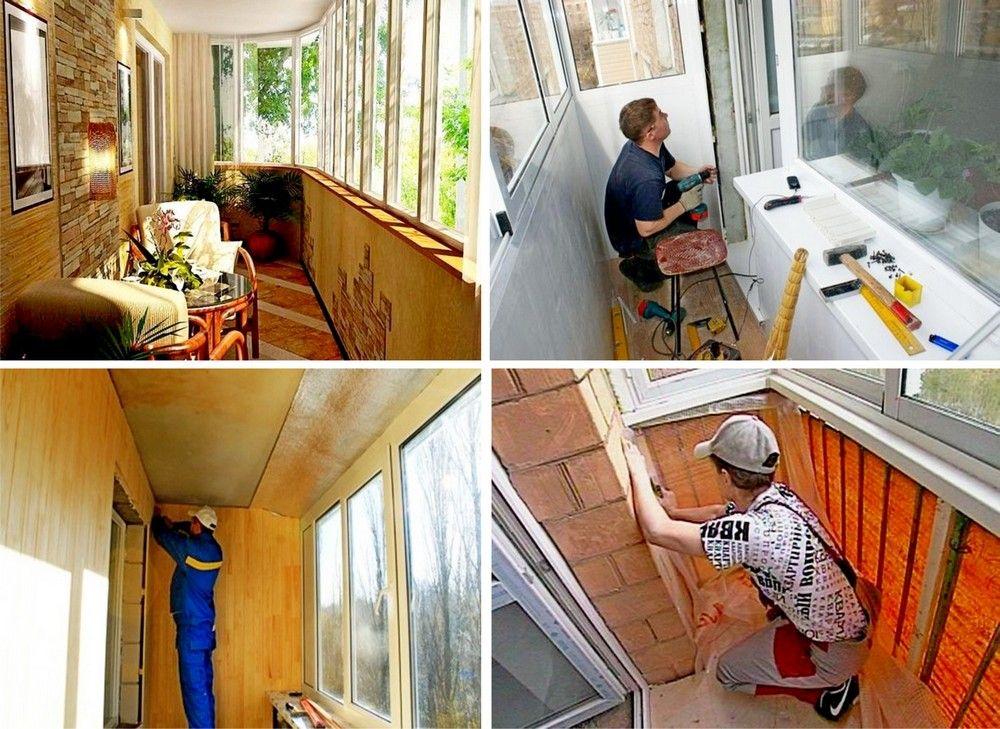 Как сделать ремонт на балконе сделай сам 56