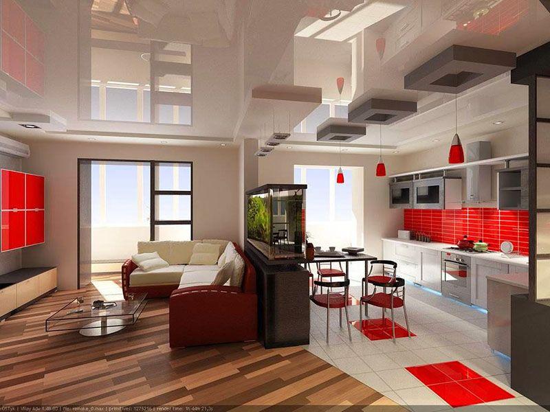 Гостиная кухня - плюс или минус?