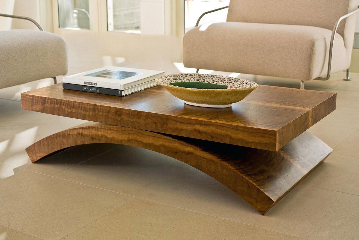 Уникальный дизайн журнальных столиков