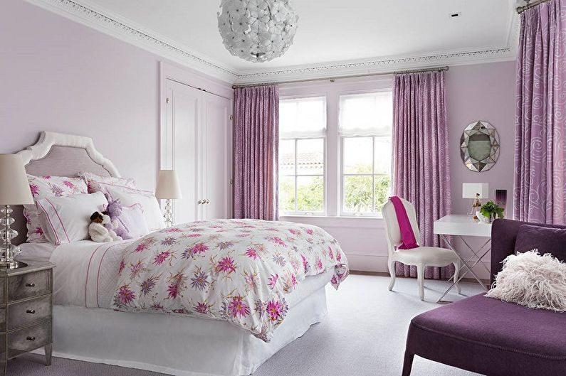 Выбор цвета комнаты для девушки