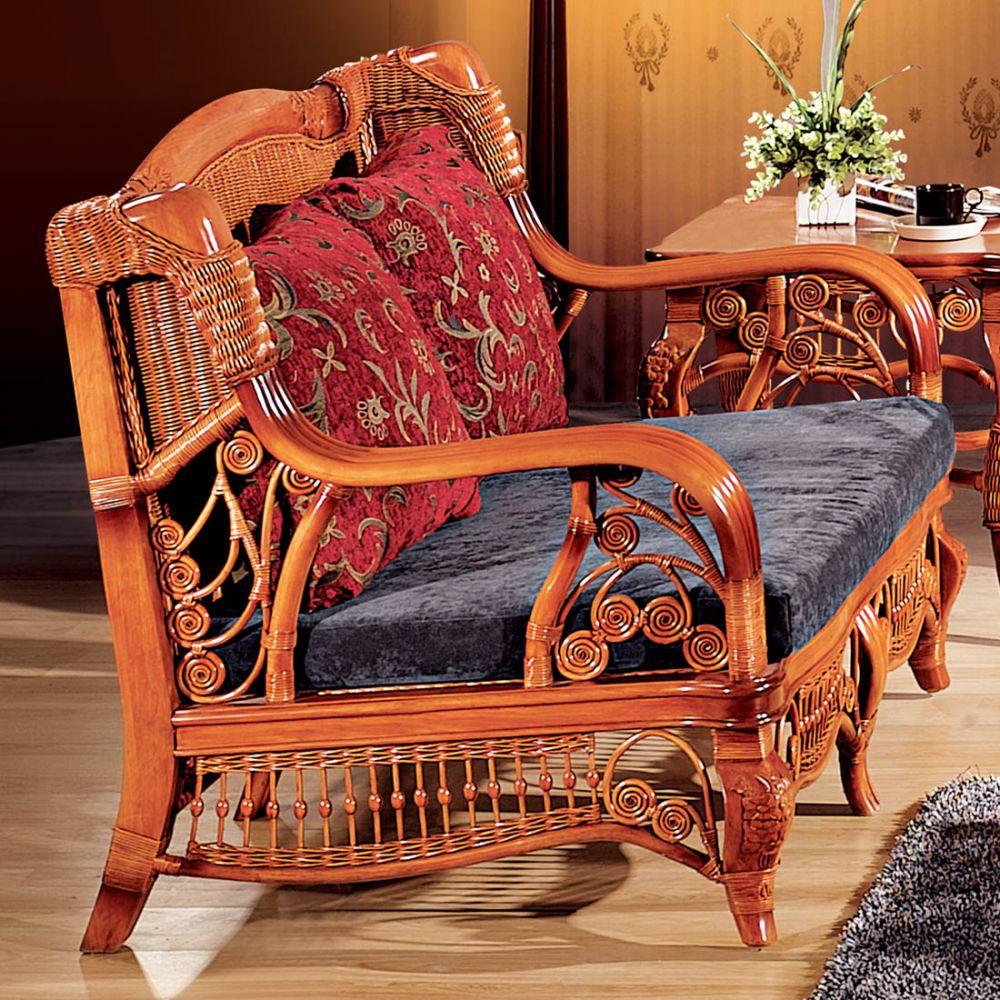 Прагматичная мебель из ротанга