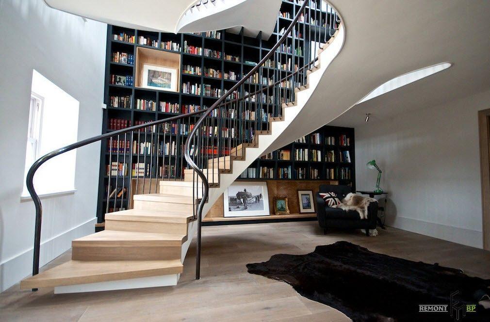 Оригинальные лестницы в интерьере вашего дома
